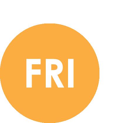 Friday (Flexible Off-Peak)