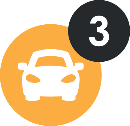 Parking for 3 cars